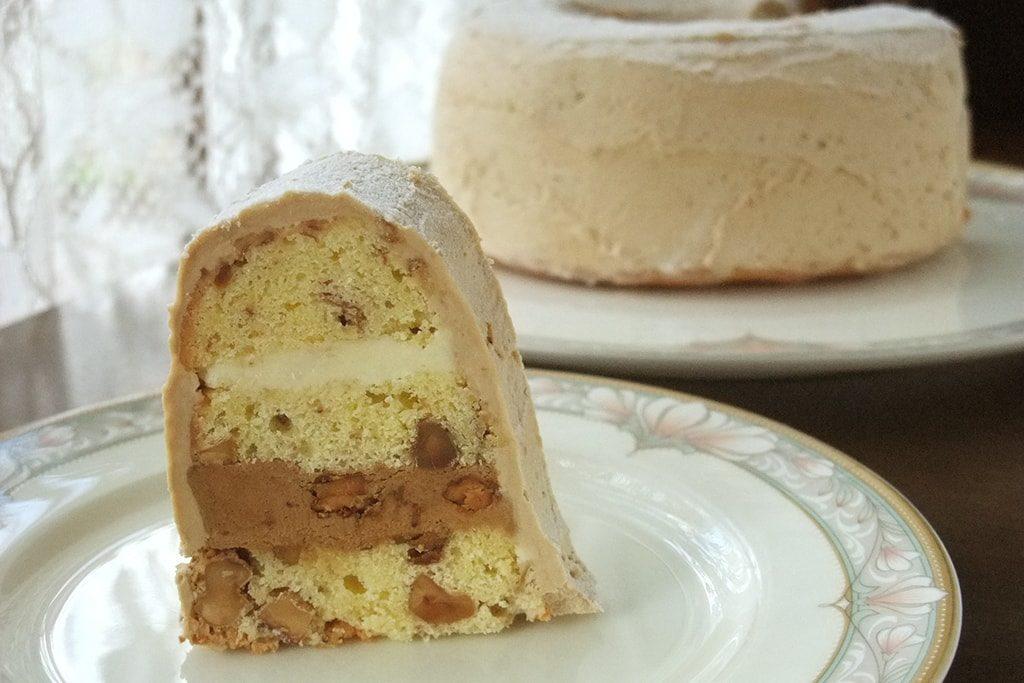 くるみのモカケーキ