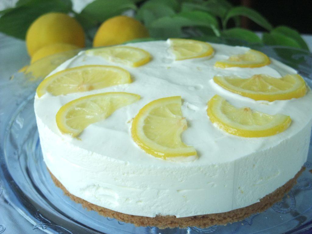 【冷凍】国産レモンのヨーグルトチーズケーキ